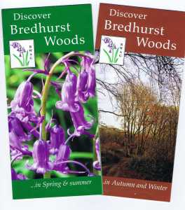 Seasonal interpretive leaflets
