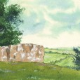 Neolithic site illustration