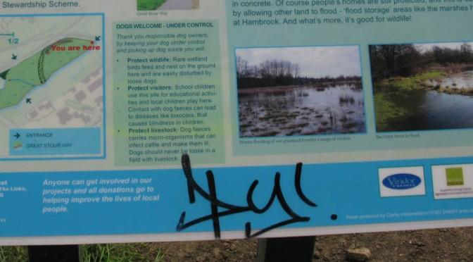 Reducing vandalism to interpretation panels – six top tips