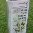 Acrylic leaflet dispenser