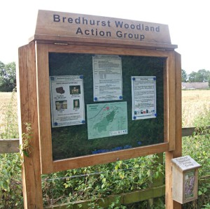 timber noticeboards