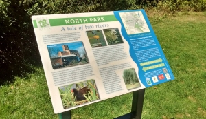interpretation board, north park