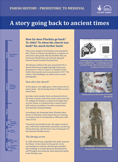 pluckley history 1