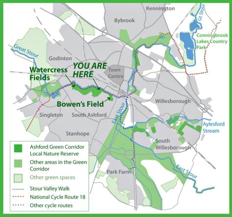 multi site map, ashford gc